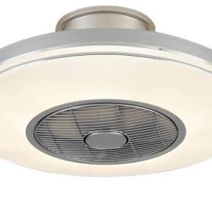 Halo Design Ventilator Plafond m/Lys og Fjernbetjening