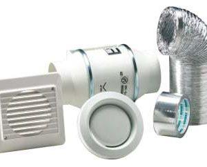 Thermex kanalventilator kit td160/100z